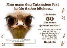 Einladungskarten 50 Geburtstag Lustig Gunstig Kaufen Ebay