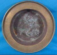 "Antique/Vintage Gorgeous Oriental Style 18"" Solid Brass Wash Bowl"