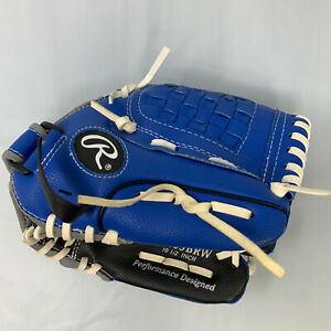 """Rawlings Player Series T-Ball Baseball Glove 10.5"""" PL105BRW Right Hand Thrower"""