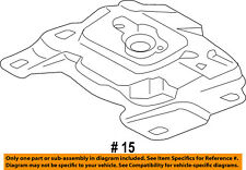 FORD OEM Focus Engine Transmission Mounting-Upper Transmission Mount AV6Z6068A