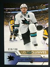 2016-17 UD Exclusives Logan Couture /100