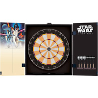 Star Wars Classic New Hope Movie Bristle Dartboard with Cabinet