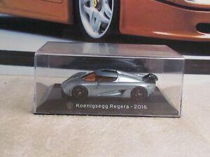 PANINI SUPERCAR COLLECTION -  KOENIGSEGG REGARA  - 1/43 SCALE MODEL CAR