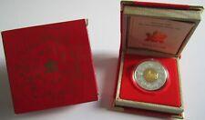 Kanada 15 Dollars 1998 Lunar Tiger 1 Oz Silber