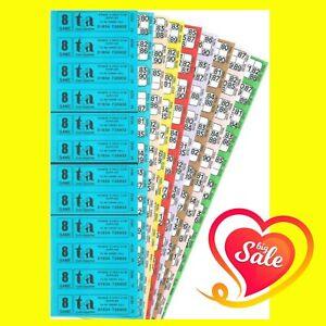 Bingo Tickets Bingo Books 1500 8 Page 8 Game 12 To View Bingo Books