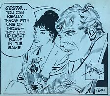 Modesty Blaise Original Art Jim Holdaway