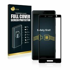 Sony Xperia XZ2 Compact, ® 3D Curved Full Cover Tempered Glass Screen Protector