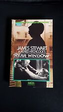 James Stewart in Alfred Hitchcock's Rear Window Collector's Edition VHS Tape
