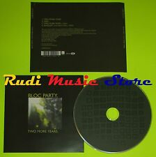 CD Singolo BLOC PARTY Two more years London EMI MUSIC 2005   mc dvd (S7)