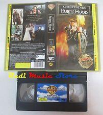 film VHS ROBIN HOOD PRINCIPE DEI LADRI Kevin Kostner 1991 (F26) no dvd