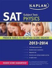 Kaplan SAT Subject Test Physics 2013-2014 (Kaplan Test Prep)