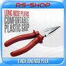 "6"" Quality Standard Long Nose Pliers with Plastic Coated Handles"