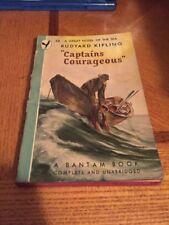 Captains Courageous by Rudyard Kipling Bantam 58 PB 1946