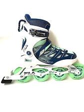FILA Ghibili 90 Lady Alu ABEC 9 Fitness Inliner Skates 7065 Gr. 38