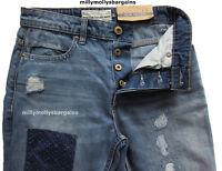 New Mens Blue Slim Tapered NEXT Jeans Size 36 34 32 30 28 Regular Short RRP £45