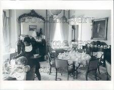 1976 Interior Historic Goetchius House Restaurant Columbus Georgia Press Photo