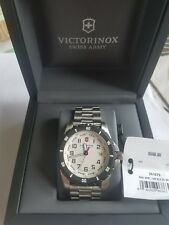 Victorinox Swiss Army White Dial Stainless Steel Men's Watch 241677