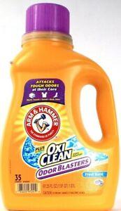 1 Arm Hammer Plus Oxy Clean Stain Fighters Odor Blaster Fresh Burst 35 Loads