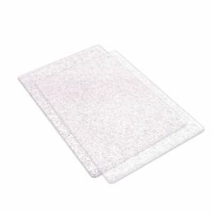Sizzix Big Shot Cutting Plates Clear Glitter Standard Size Die Cutting Embossing