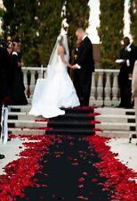 "Black Aisle - Event Runner 50 ft x 38"" Puncture Resistant! Wedding ~ Graduation"