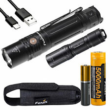 Fenix PD36R 1600 Lumen Rechargeable Tactical Flashlight with E01 V2 Flashlight