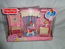 FISHER PRICE LOVING FAMILY NEW ADDITIONS BED TIME 2003 NEW