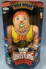 Vtg WWF Wrestler Buddy Hulk Hogan Tonka Wrestling Buddies Stuffed Pillow Doll