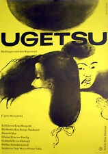 Kenji Mizoguchi's TALES OF UGETSU 1sh from 1959  Hillmann art rolled