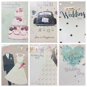 Wedding Day Card (@)