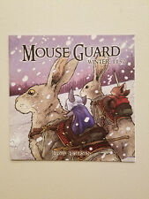 Mouse Guard Winter 1152 #6 (Archaia David Peterson 1st Printing May 2009)