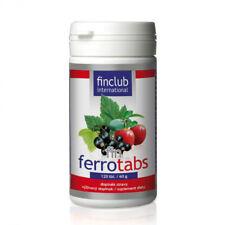 Fin Ferrotabs 120 tabl.- Finclub - żelazo, transport tlenu w organizmie