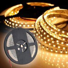 5M 600 LEDs 3528SMD LED Leiste Strip Band Streifen Warmweiß nicht wasserdicht