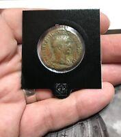 Numis - Dupondio di Traiano - BUSTO ARMATURA IMPERATORE - moneta romana antica