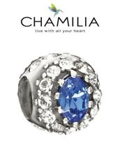 Genuine CHAMILIA 925 silver & Swarovski Ltd Edition ROYAL ENGAGEMENT charm bead