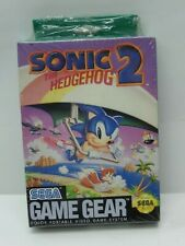 Sonic The Hedgehog 2 (sega Game Gear 1992) BRAND in Wrapper SGG GG