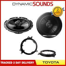 Pioneer 6.5 inch 17cm Front or Rear Door Speaker Upgrade Kit for Toyota