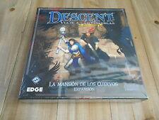 DESCENT - La Mansión de los Cuervos - expansión - juego de mesa - EDGE