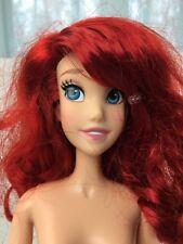 "Disney Fairytale Princess Ariel Dress Little Mermaid 17"" Singing Doll Nude"