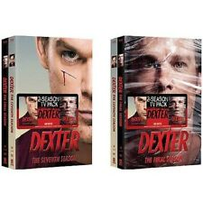 Dexter TV Series Complete Season 7 & 8 ~ BRAND NEW 8-DISC DVD SET