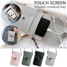 Touchable PU Leather Change Bag Mobile Phone Women Girls Fashion All-match Bags