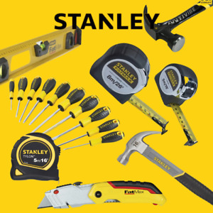 STANLEY TOOLS, Hammers, Tapes, Screwdrivers, Pliers, & More