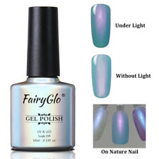 FairyGlo UV LED Shell Gel Nail Polish Soak off Manicure Beauty Nail Salon 9514