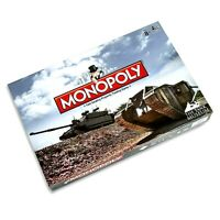 NEW & FACTORY SEALED - Monopoly The Tank Museum Edition - Rare Family Board Game