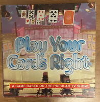 Play Your Cards Right Board Game By Britannia Games With Rules TV Show Quiz