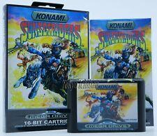 Sega Mega Drive Konami - Sunset Riders - Pal EUR / Reproduction
