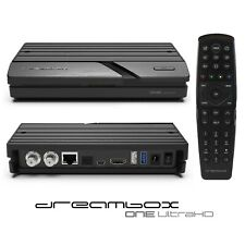 Dreambox One 4K UHD 2xDVB-S2X Multistream E2 Linux Satellite Receiver Ultra HD