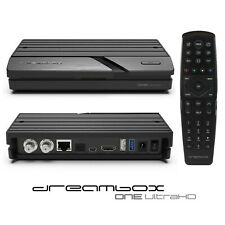 Dreambox One 4K UHD 2xDVB-S2X Multistream E2 Linux Sat Receiver Ultra HD