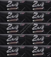 Zero King Size Slim Transparent Rolling Papers (10 Booklets) Kingsize Paper Set