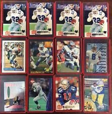 12 Football Card Lot Rigid Plastic Sleeves Ungraded NFL ShopTradingCards.com
