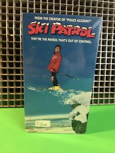 SKI PATROL-VHS•RCAColumbia•Makers Of Police Academy•Comedy•Revenge Of The Nerds